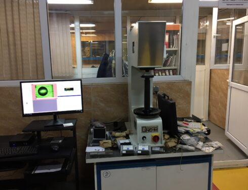 دستگاه سختی سنج ارتقا یافته SwissMax 600 ماشین سازی اراک